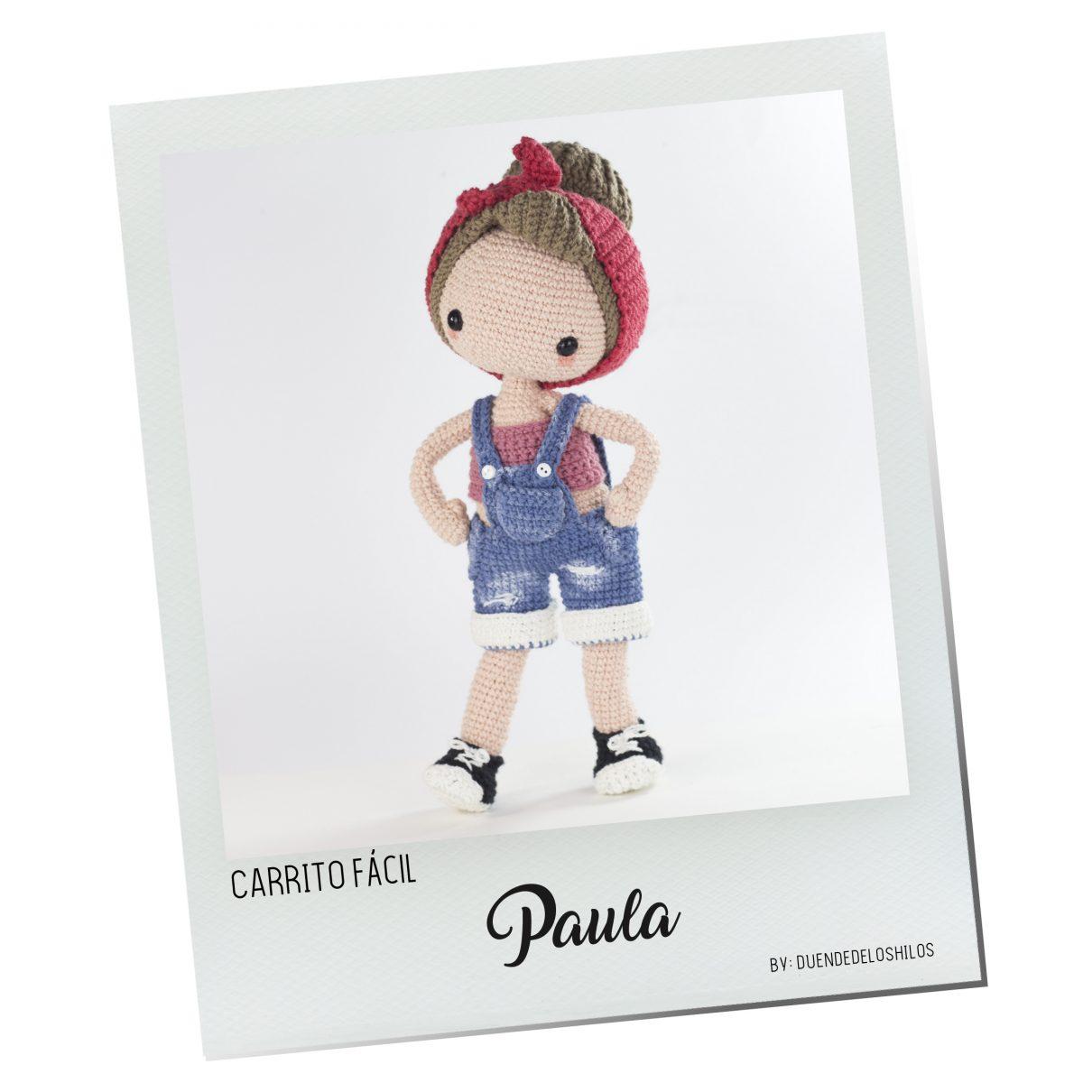 Paula, muñeca pin up ¡Carrito Fácil!