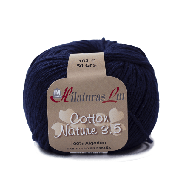 Algodon 100% para tejer Hilaturas LM 4093 Azul Marino