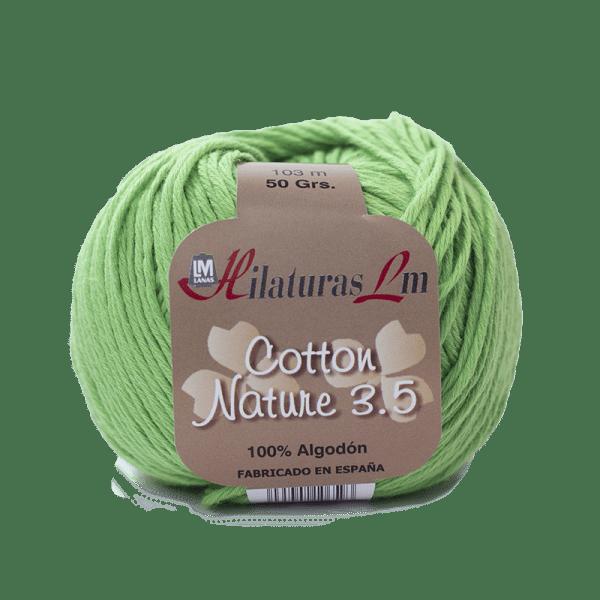 Algodon 100% para tejer Hilaturas LM 4094 Verde Claro