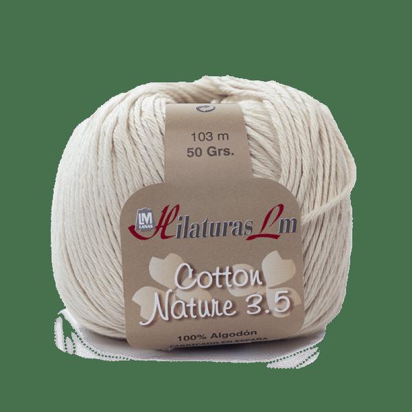 Algodon 100% para tejer Hilaturas LM 4095 Carne