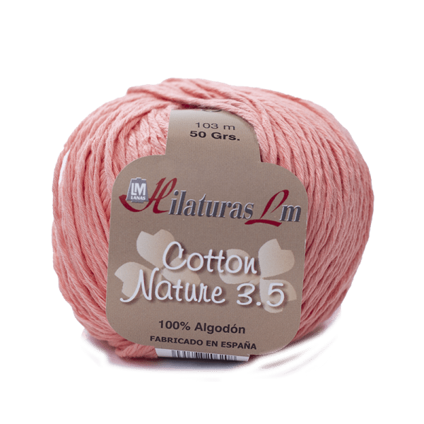Algodon 100% para tejer Hilaturas LM 4101 Salmón
