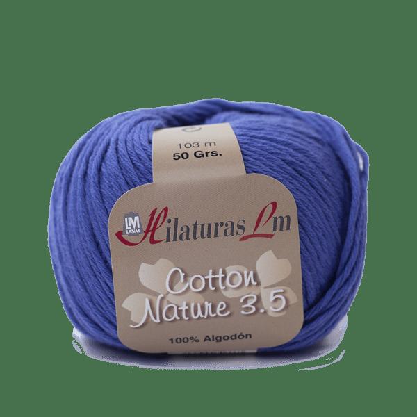 Algodon 100% para tejer Hilaturas LM 4109 Azulón