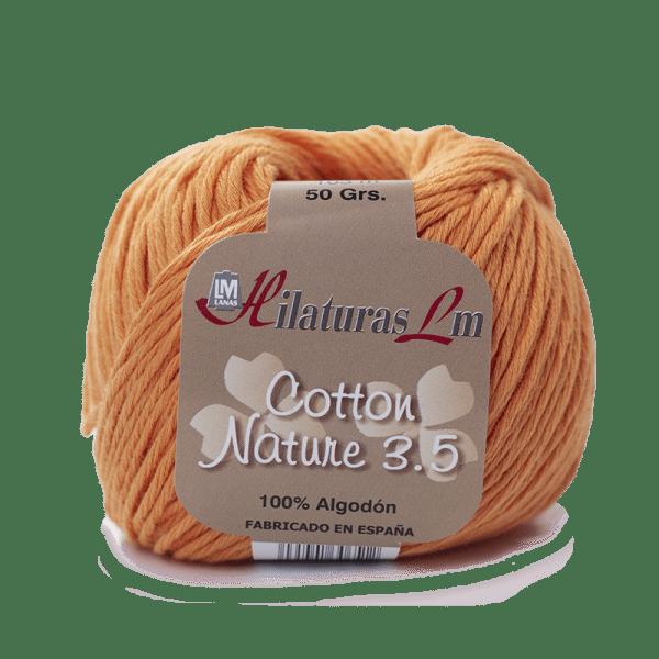 Algodon 100% para tejer Hilaturas LM 4114 Naranja