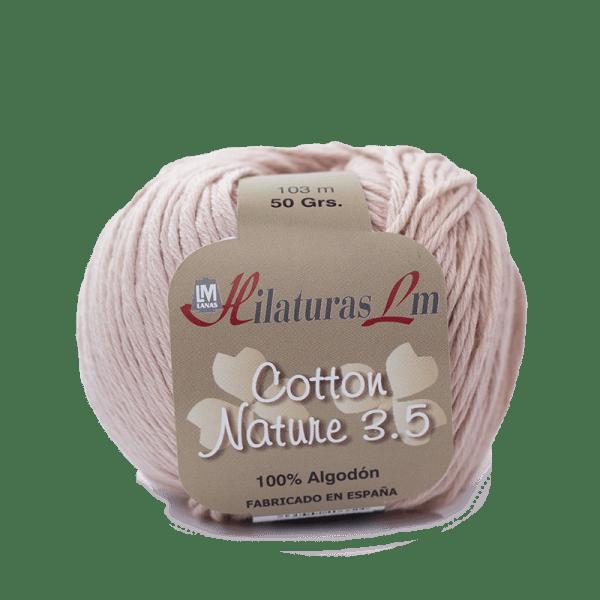 Algodon 100% para tejer Hilaturas LM 4121 Piel