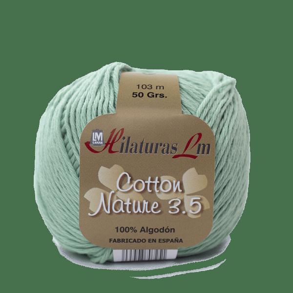 Algodon 100% para tejer Hilaturas LM 4129 Verde Agua