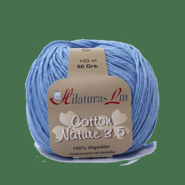 Algodon 100% para tejer Hilaturas LM 4131 Azul