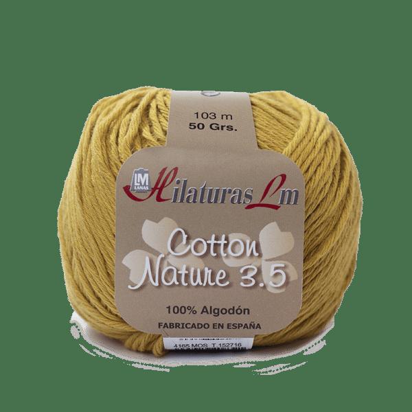 Algodon 100% para tejer Hilaturas LM 4165 Mostaza