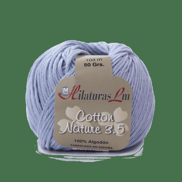 Algodon 100% para tejer Hilaturas LM 4236 Azulado