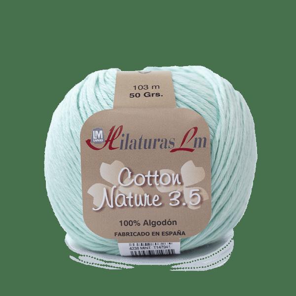 Algodon 100% para tejer Hilaturas LM 4238 MInt