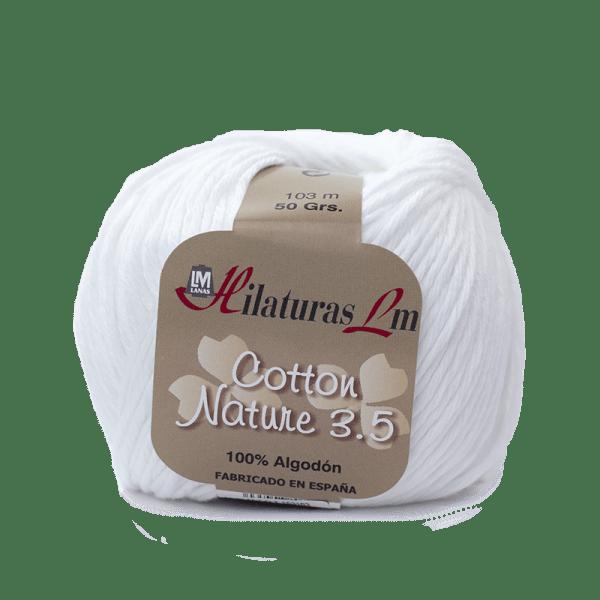 Algodon 100% para tejer Hilaturas LM 50 Blanco